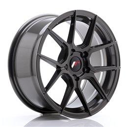 JR Wheels JR30 17x8 ET40 5x100 Hyper Gray