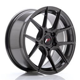 JR Wheels JR30 17x8 ET40 5x112 Hyper Gray