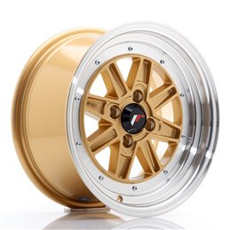 JR Wheels JR31 15x7.5 ET20 4x100 Or / Bord Poli