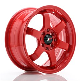 JR Wheels JR3 15x7 ET40 4x100/114.3 Red