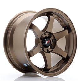 JR Wheels JR3 15x8 ET25 4x100/114.3 Anodized Bronze
