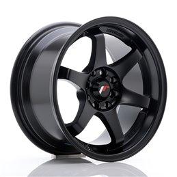 JR Wheels JR3 15x8 ET25 4x100/108 Noir Mat