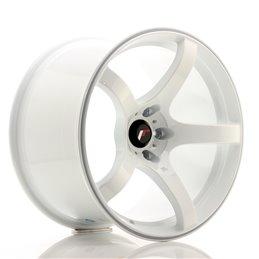 JR Wheels JR32 18x10.5 ET22 5x114.3 Blanc
