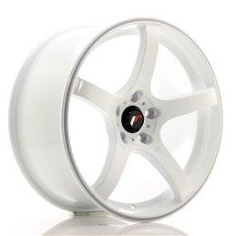 JR Wheels JR32 18x8.5 ET38 5x114.3 Blanc