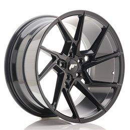 JR Wheels JR33 20x10.5 ET30 5x120 Noir Brillant