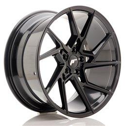 JR Wheels JR33 20x10 ET40 5x120 Noir Brillant