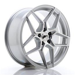 JR Wheels JR34 18x8 ET35 5x120 Argent Face Polie