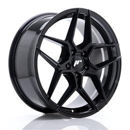 JR Wheels JR34 18x8 ET42 5x112 Noir Brillant