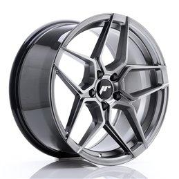 JR Wheels JR34 18x9 ET42 5x112 Hyper Black