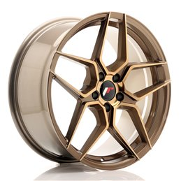JR Wheels JR34 19x8.5 ET40 5x114.3 Platinum Bronze