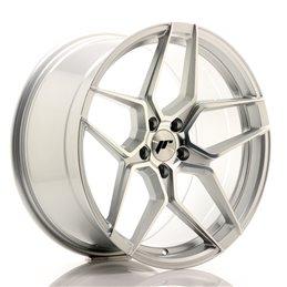 JR Wheels JR34 19x9.5 ET35 5x120 Argent Face Polie