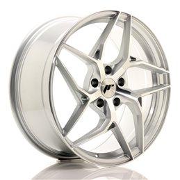 JR Wheels JR35 19x8.5 ET35 5x120 Argent Face Polie