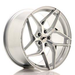 JR Wheels JR35 19x9.5 ET35 5x120 Argent Face Polie
