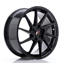 JR Wheels JR36 18x8 ET45 5x114.3 Noir Brillant