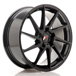 JR Wheels JR36 18x8 ET35 5x120 Noir Brillant
