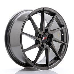 JR Wheels JR36 18x8 ET45 5x112 Hyper Gray