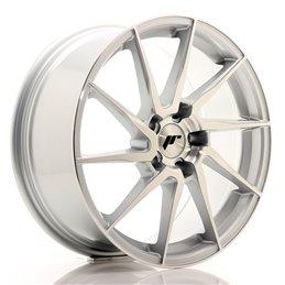 JR Wheels JR36 18x8 ET45 5x112 Argent Face Poli