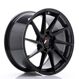 JR Wheels JR36 18x9 ET45 5x114.3 Noir Brillant