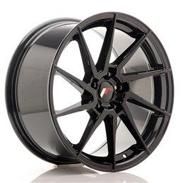 JR Wheels JR36 18x9 ET45 5x112 Noir Brillant