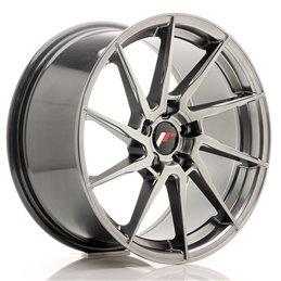 JR Wheels JR36 18x9 ET45 5x112 Hyper Black
