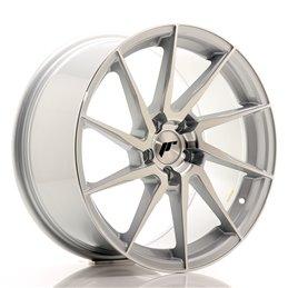 JR Wheels JR36 18x9 ET45 5x112 Argent Face Poli