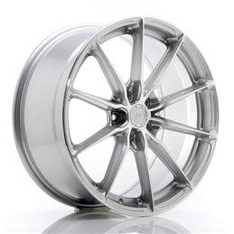 JR Wheels JR37 19x8.5 ET45 5x112 Argent Face Polie