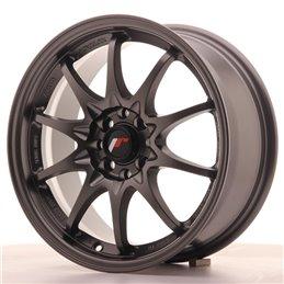 JR Wheels JR5 16x7 ET30 4x100/108 Gun Metal Mat
