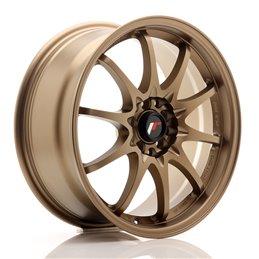 JR Wheels JR5 17x7.5 ET35 4x100/114.3 Bronze