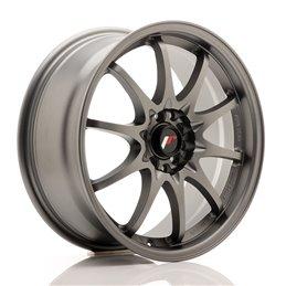 JR Wheels JR5 17x7.5 ET35 5x100/114.3 Gun Metal Mat