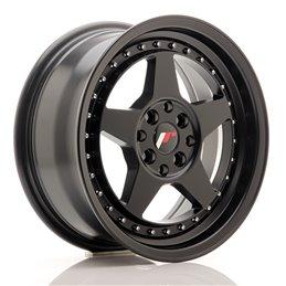 JR Wheels JR6 15x7 ET35 4x100/114.3 Noir Mat