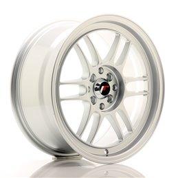 JR Wheels JR7 17x8 ET35 4x100/114.3 Argent