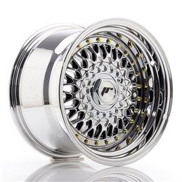 JR Wheels JR9 15x9 ET10 4x100/108 Chrome