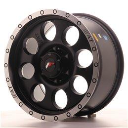 JR Wheels JRX4 17x8.5 ET20 6x139.7 Noir Mat / Bord Poli