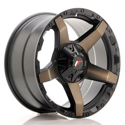 JR Wheels JRX5 18x9 ET20 6x139.7 Titanium Black