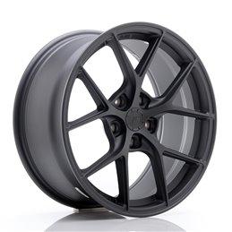 JR Wheels SL01 18x8.5 ET35 5x120 Gun Metal Mat