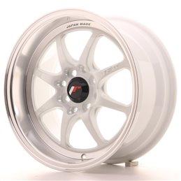 JR Wheels TF2 15x7.5 ET30 4x100/114.3 Blanc