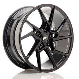 JR Wheels JR33 19x8.5 ET35 5x120 Noir Brillant