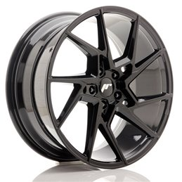JR Wheels JR33 20x9 ET42 5x112 Noir Brillant