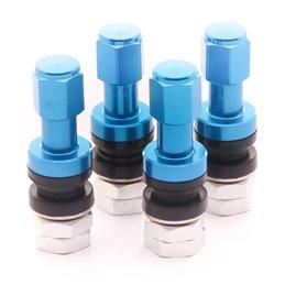 Valves en Aluminium - Bleues (lot de 4)