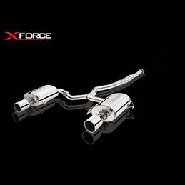Silencieux et Intermédiaire Inox Subaru Legacy 3,0L (H6) 6CYL N/A 2004-2009 (non poli)