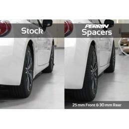 Elargisseurs Voies PERRIN 5x100 / +25mm GT/WRX/STI 1993-2011 BRZ 2011-2021